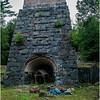 Adirondacks Tahawus Ghost Town Exterior 3 Blast Furnace August 2008