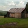 Adirondacks Barn near Chimney Mountain and King's Flow July 2009
