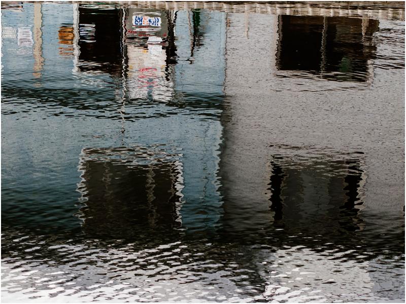 Adirondacks Inlet Marina Reflection July 2010