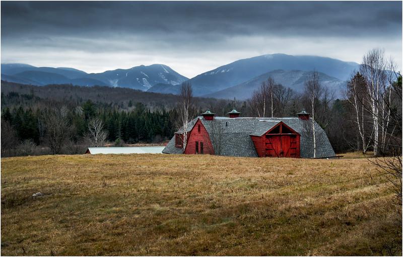 Adirondacks Lake Placid November 2015 North Elba Barn 1