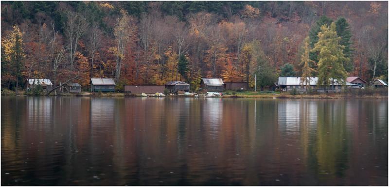 Adirondacks Essex Chain 3rd Lake Gooley Club Buildings South Bay October 2013