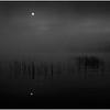 Adirondacks Little Tupper Lake Mist Moon and Wild Rice 5 September 2013