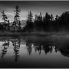 Adirondacks Forked Lake Sunrise North Bay Inlet 6 August 2013