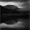 Adirondacks Henderson Lake September 2010 Mist Wallface Mt