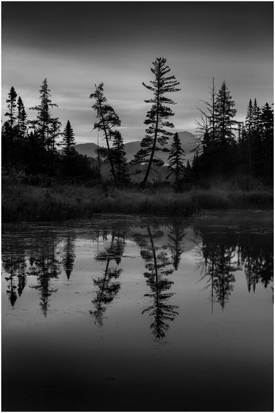Adirondacks Forked Lake Sunrise North Bay Inlet Vertical August 2013