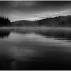 Adirondacks Cedar River Flow Mist Deep Bay Shore September 2013