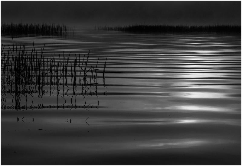 Adirondacks Little Tupper Lake Mist Sunrise Reflection September 2013
