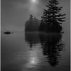 Adirondacks Blue Mountain Lake Sun Rocks and Islands 10 July 2013