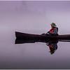 Adirondacks Newcomb Lake Morning Mist 9 July 2017