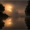 Adirondacks Forked Lake July 2015 Morning Mist Sunrise 11