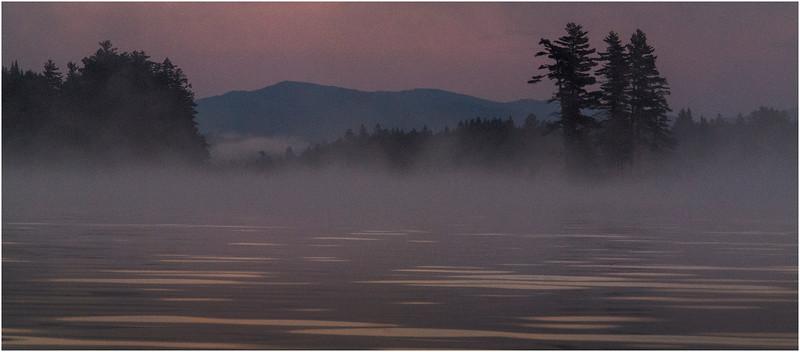 Adirondacks Forked Lake Morning Mist 38 July 2017