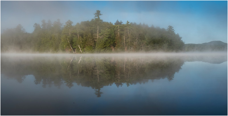 Adirondacks Rollins Pond Morning 13 August 2019