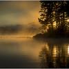 Adirondacks Lake Rondaxe Sunrise 21 July 2016