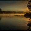 Adirondacks Lake Rondaxe Sunrise 22 July 2016