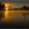 Adirondacks Lake Rondaxe Sunrise 15 July 2016