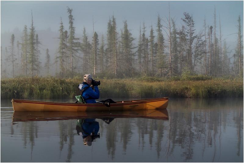 Adirondacks Forked Lake July 2015 Morning Mist After Sunrise Tom Curley 6
