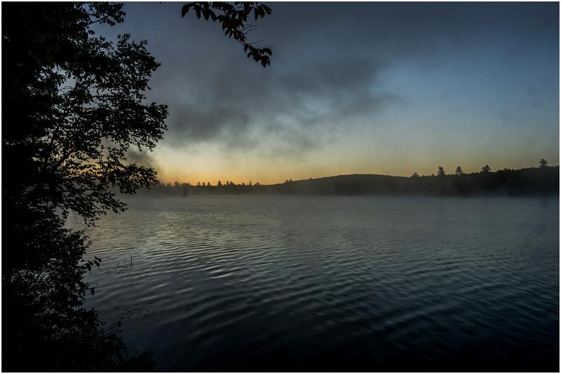 Adirondacks Lake Durant Morning Light 2 September 25 2016