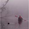 Adirondacks Newcomb Lake Morning Mist 12 July 2017
