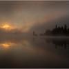 Adirondacks Forked Lake July 2015 Morning Mist Sunrise 2