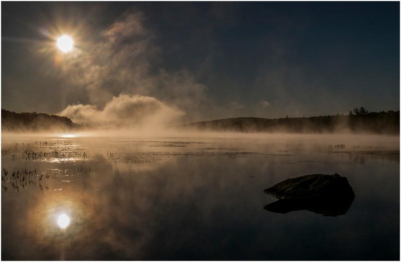 Adirondacks Lake Durant Sunrise 11 September 25 2016