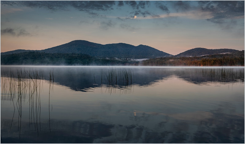 Adirondacks Lake Eaton Morning 5 July 2019