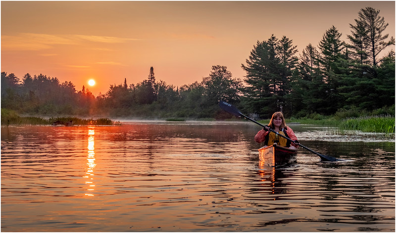 Adirondacks Round Lake Morning 1 August 2019
