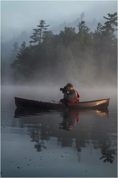 Adirondacks Forked Lake July 2015 Morning Mist After Sunrise Dan Way The Photographer Shoots 2