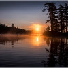 Adirondacks Forked Lake Morning Mist 30 July 2017