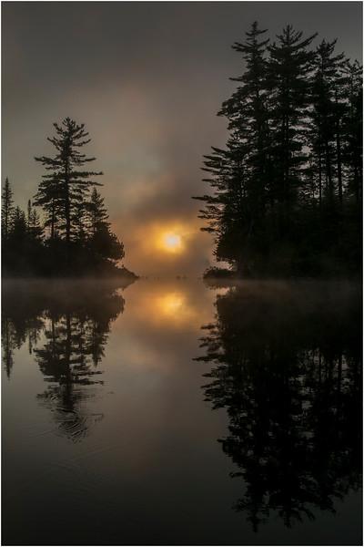 Adirondacks Forked Lake July 2015 Morning Mist Sunrise 8