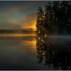 Adirondacks Lake Rondaxe Sunrise 17 July 2016