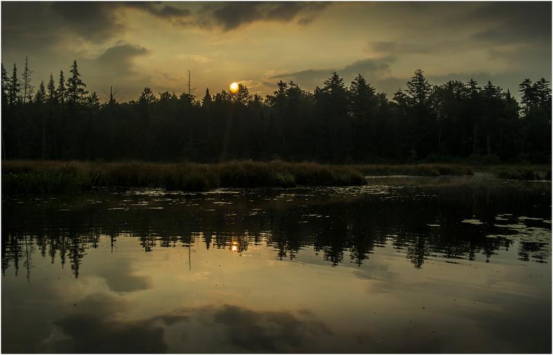 Adirondacks Forked Lake August 2015 North Bay Inlet Sunrise 1