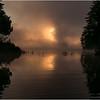 Adirondacks Forked Lake July 2015 Morning Mist Sunrise 10