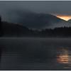 Adirondacks Henderson Lake September 2010 Mist Near Sunrise3