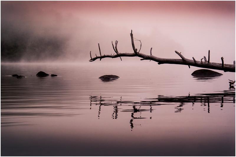 Adirondacks Chateaugay Lake Before Sunrise 6 July 2016