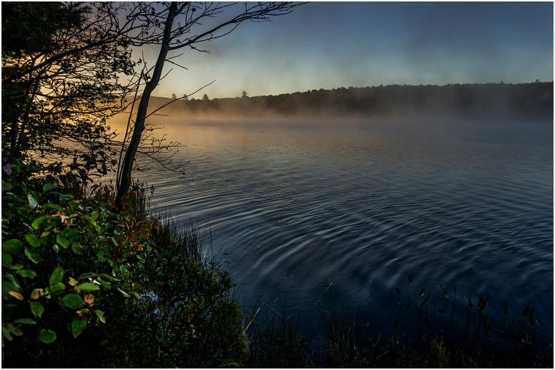 Adirondacks Lake Durant Morning Light 4 September 25 2016