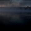 Adirondacks Forked Lake July 2015 Morning Mist Emerging Shore 4