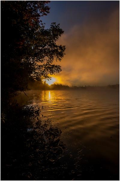 Adirondacks Lake Durant Sunrise 3 September 25 2016