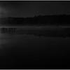 Adirondacks Lake Rondaxe Sunrise 24 BW July 2016