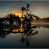 Adirondacks Lake Rondaxe Sunrise 12 July 2016