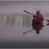 Adirondacks Newcomb Lake Morning Mist 24 July 2017