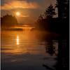 Adirondacks Forked Lake Morning Mist 27 July 2017