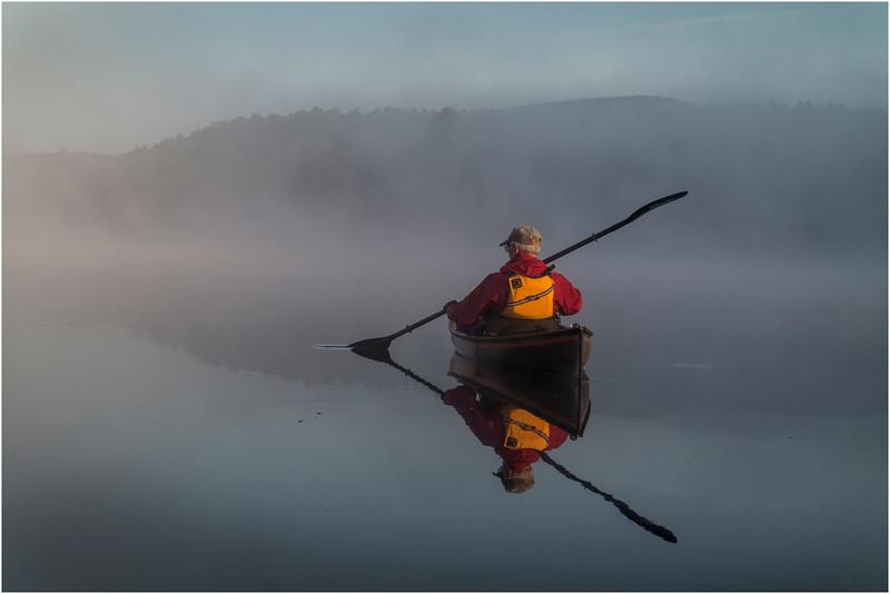 Adirondacks Forked Lake July 2015 Morning Mist After Sunrise Rick Rosen 4