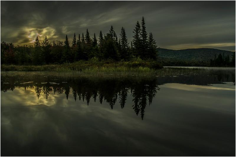 Adirondacks Cedar River Flow September 2015  Sunrise 4