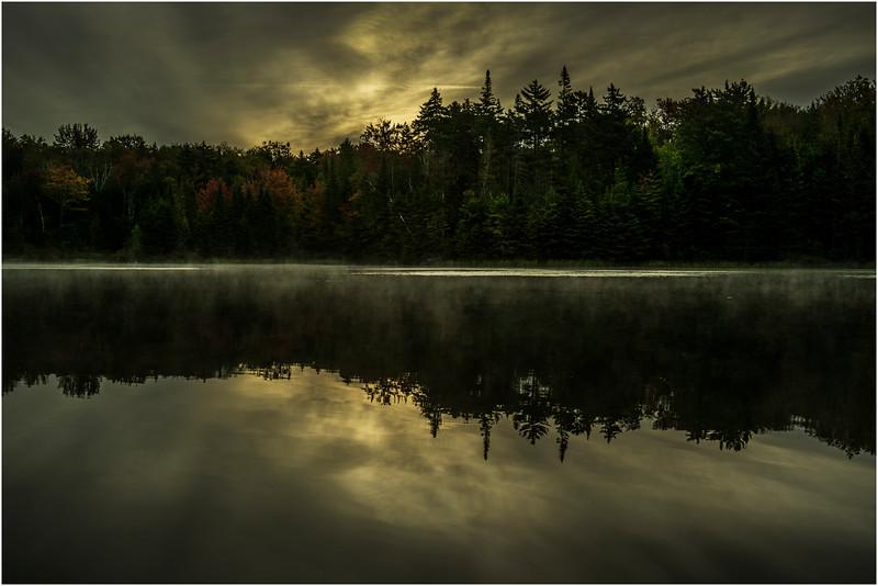 Adirondacks Cedar River Flow September 2015  Sunrise 2