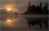 Adirondacks Forked Lake July 2015 Morning Mist Sunrise 4