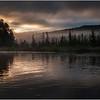 Adirondacks Raquette Lake August 2008 Mist Near Sunrise 3