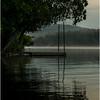 Adirondacks Forked Lake August 2015 Before Sunrise with Dock