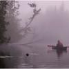 Adirondacks Newcomb Lake Morning Mist 13 July 2017