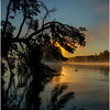 Adirondacks Lake Rondaxe Sunrise 13 July 2016