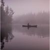 Adirondacks Newcomb Lake Morning Mist 14 July 2017